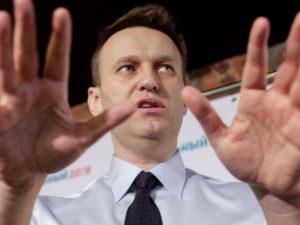 Twitter руки Навального