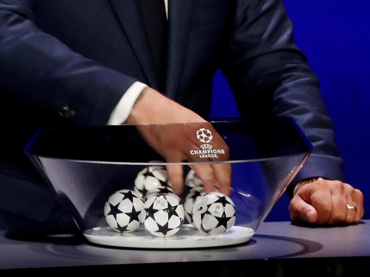 УЕФА провела жеребьевку группы ЛЧ
