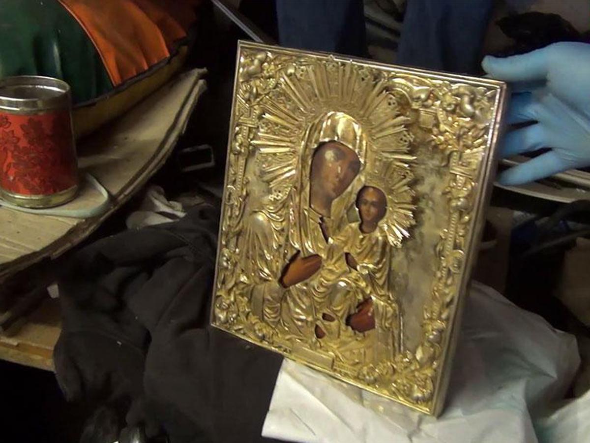 Задержаны похитители Путин икона Валдай