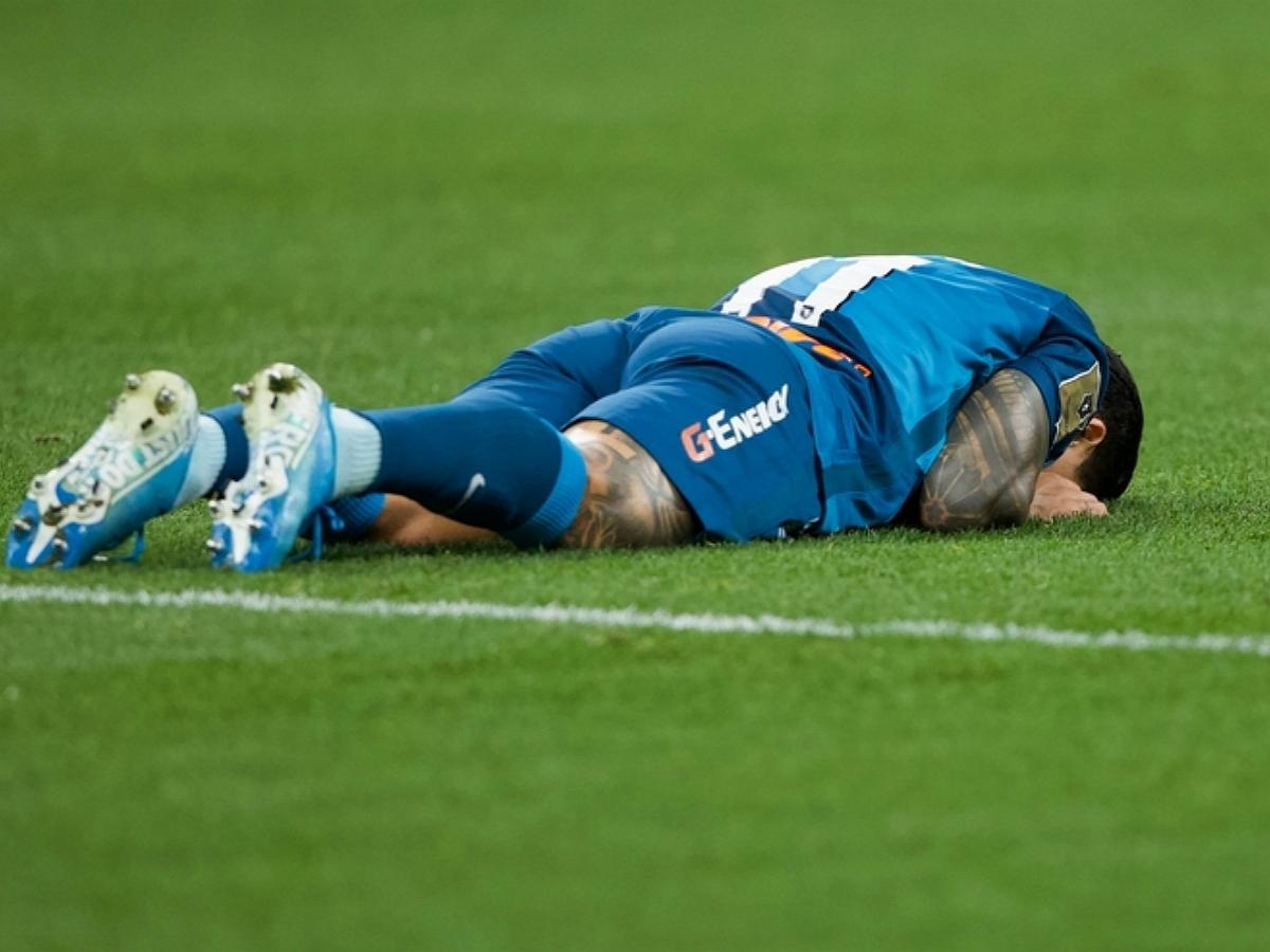 «Зенит» проиграл «Брюгге» в матче Лиги чемпионов