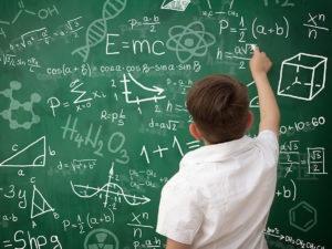 Непристойное уравнение в учебнике алгебры