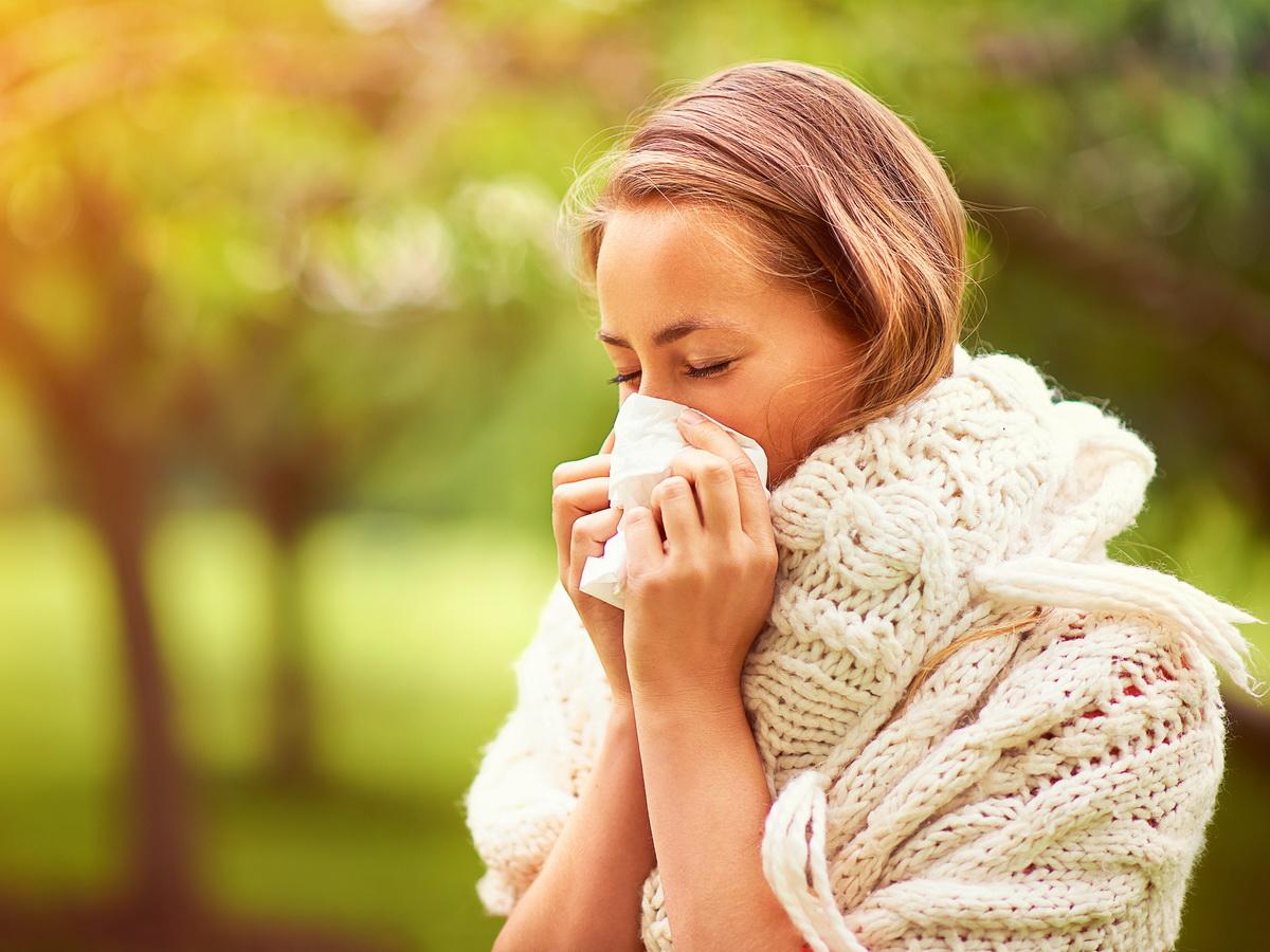 У аллергии и коронавируса обнаружили одинаковые симптомы