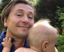 Сергей Безруков с сыном Степой