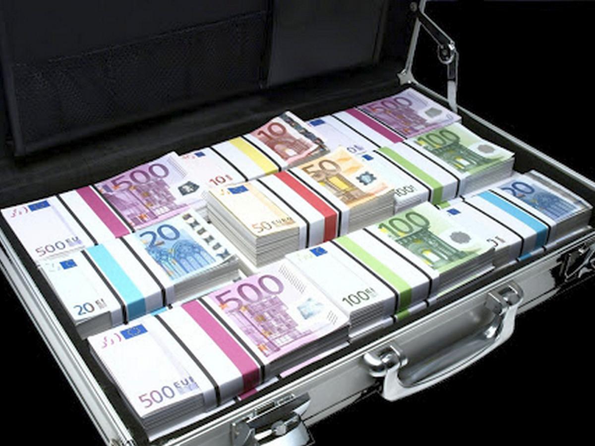 Чемодан евро