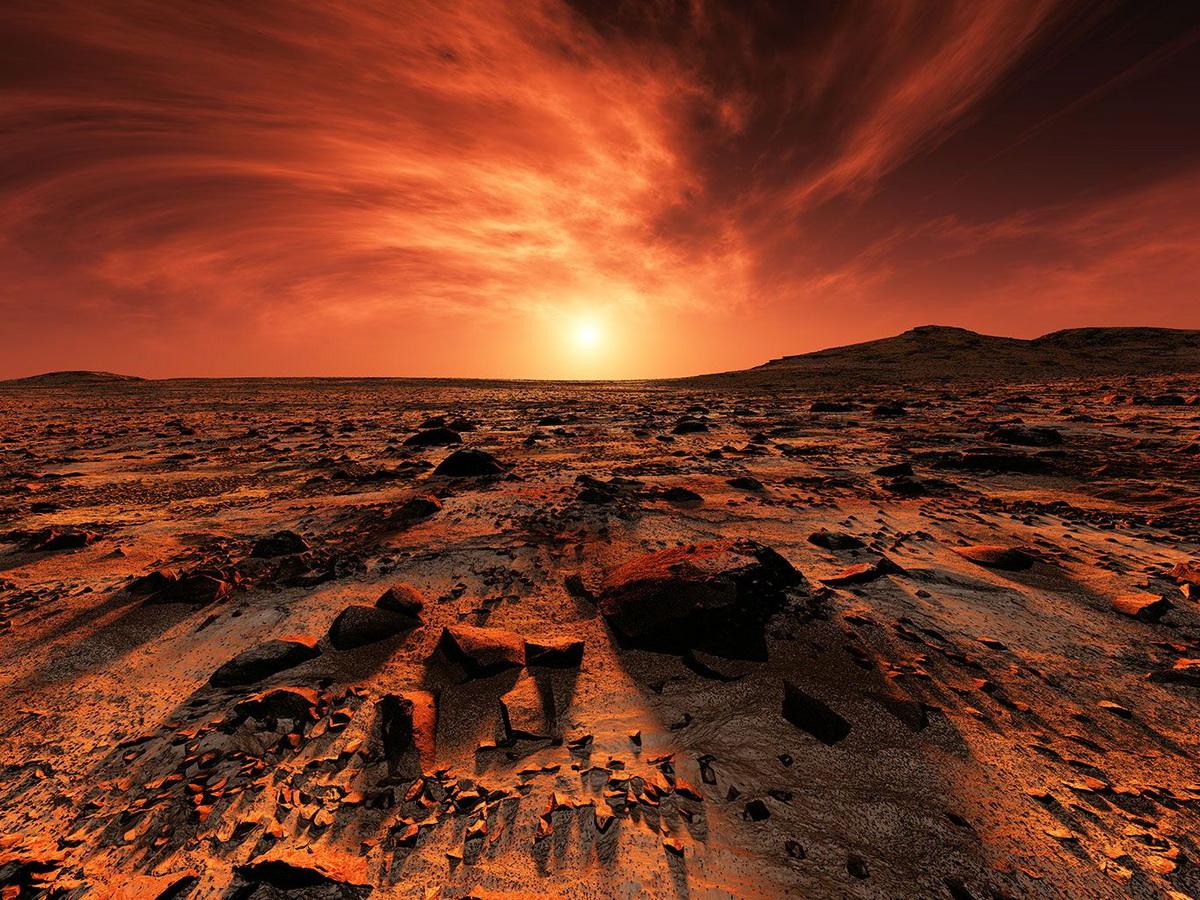 Российский космонавт рассказал о жизни на Марсе