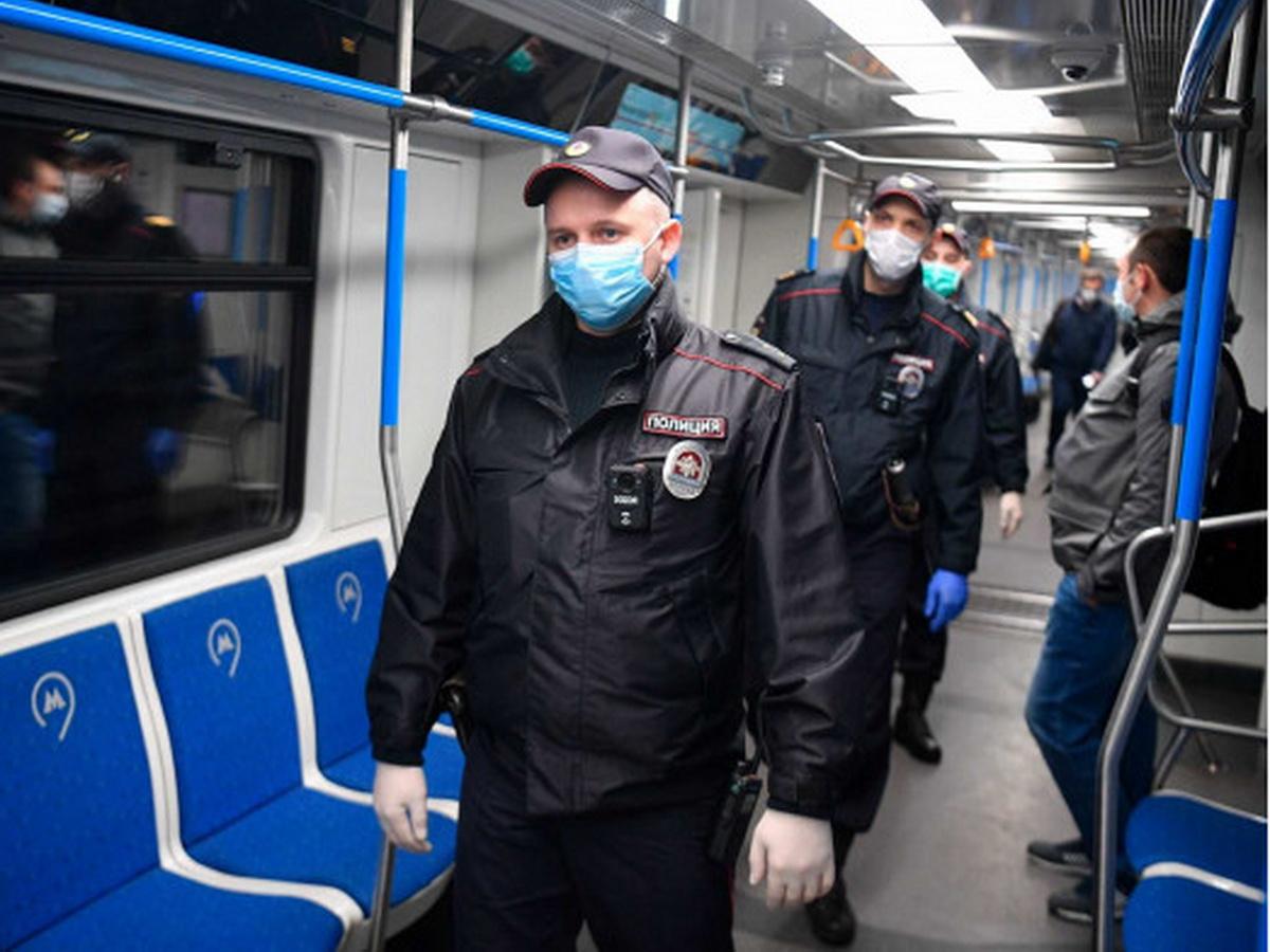 маски в метро