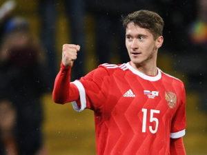 Миранчук забил дебютный гол за «Аталанту» спустя 9 минут после выхода на замену