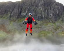 Реактивный ранец для спасателей испытали в Великобритании