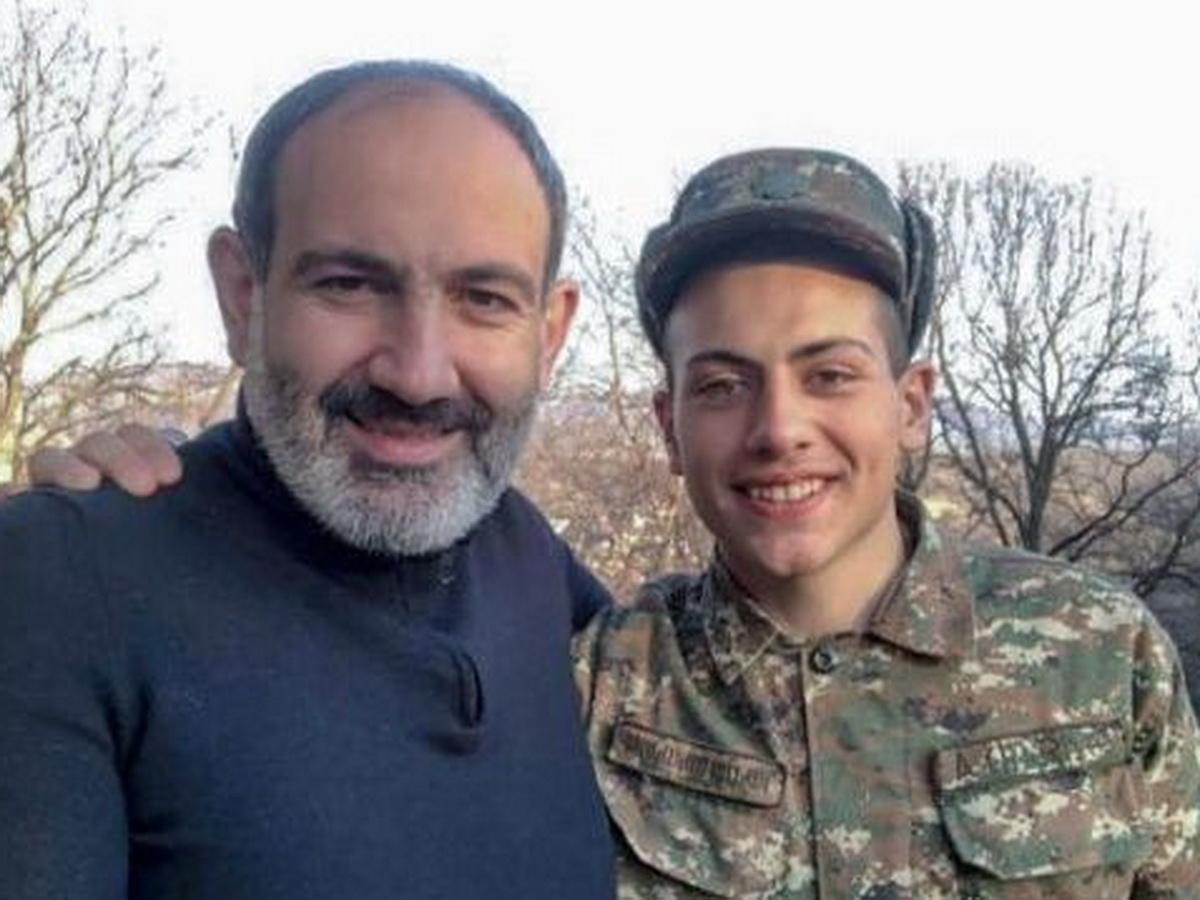Сын Пашиняна пошел воевать в Карабах
