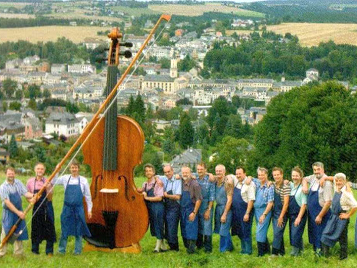 Самая большая скрипка в мире