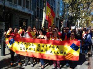 сторонники независимости Каталонии спели