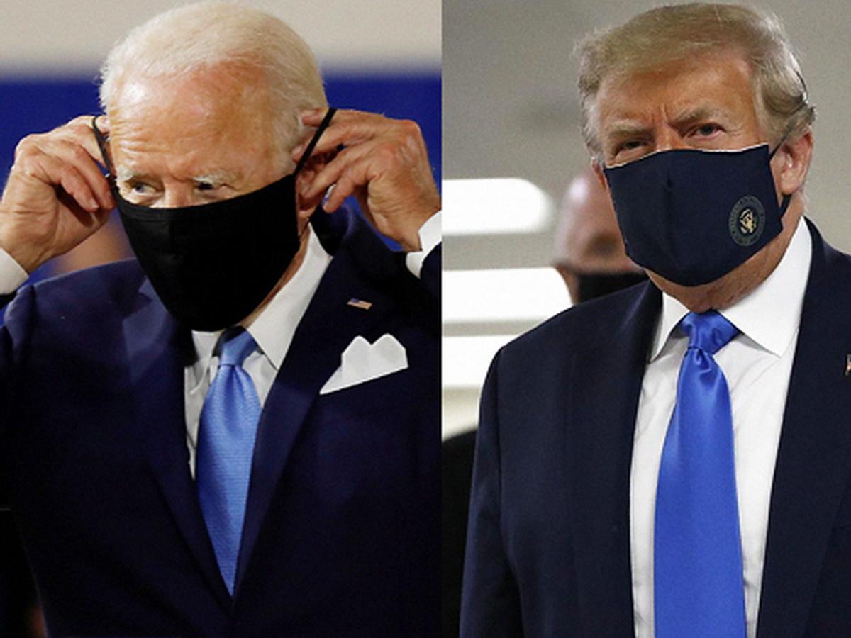 Трамп и Байден