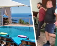 Мордобой в турецком отеле