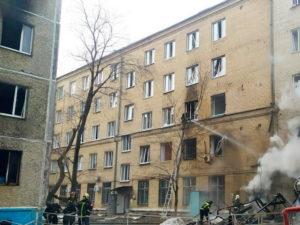 Взрыв в Челябинске в ковидной больнице