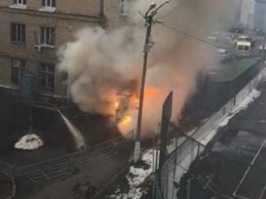 Взрыв в Челябинске в ковид-больнице