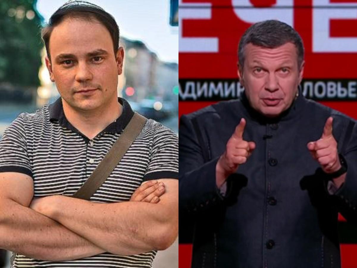 Оскорбленный Пивоваров подал иск на 5 млн к Владимиру Соловьеву