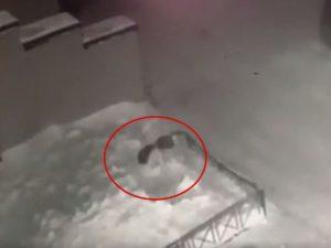 6-летняя девочка в Томске выпала из окна в сугроб и чудом выжила