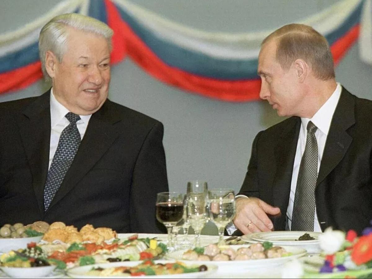 Ельцин и Путин
