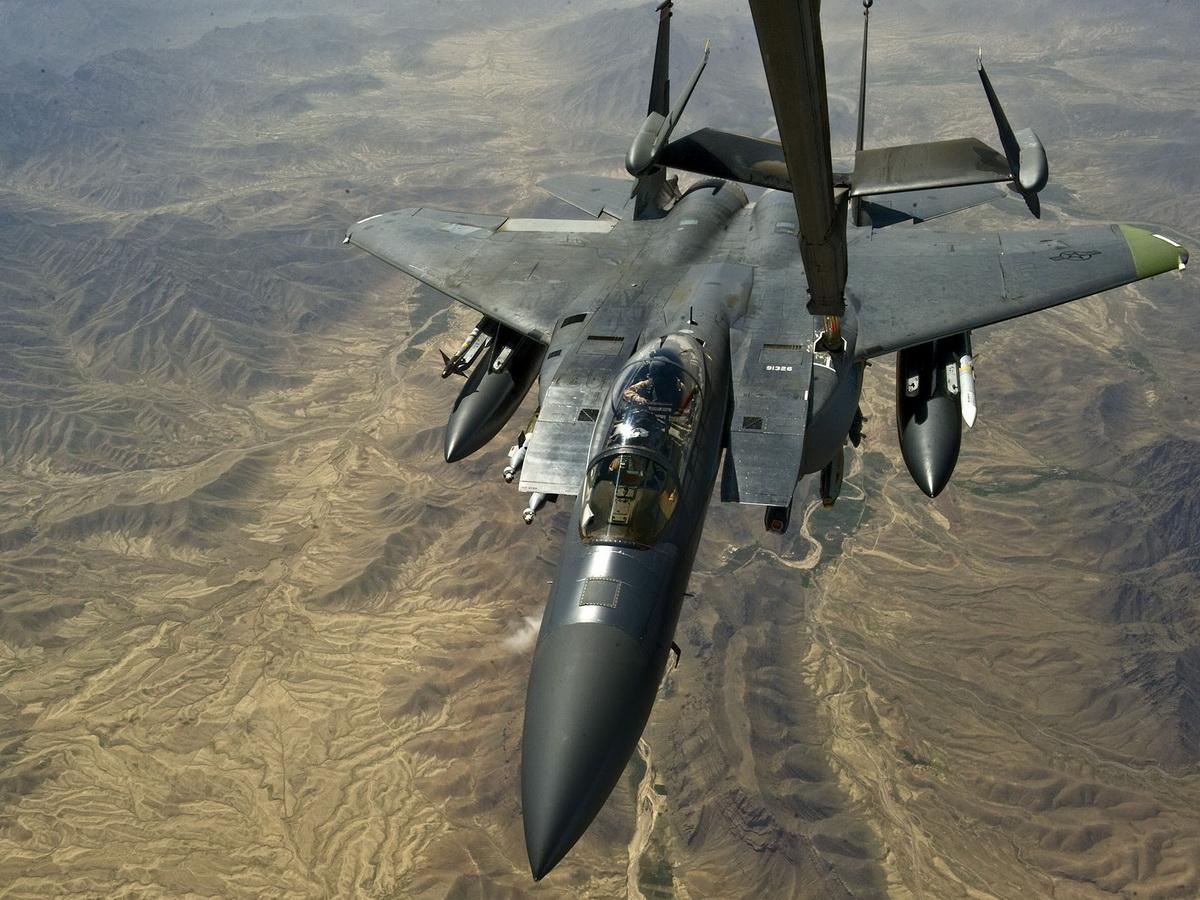 F-15 разбился при перехвате самолета РФ