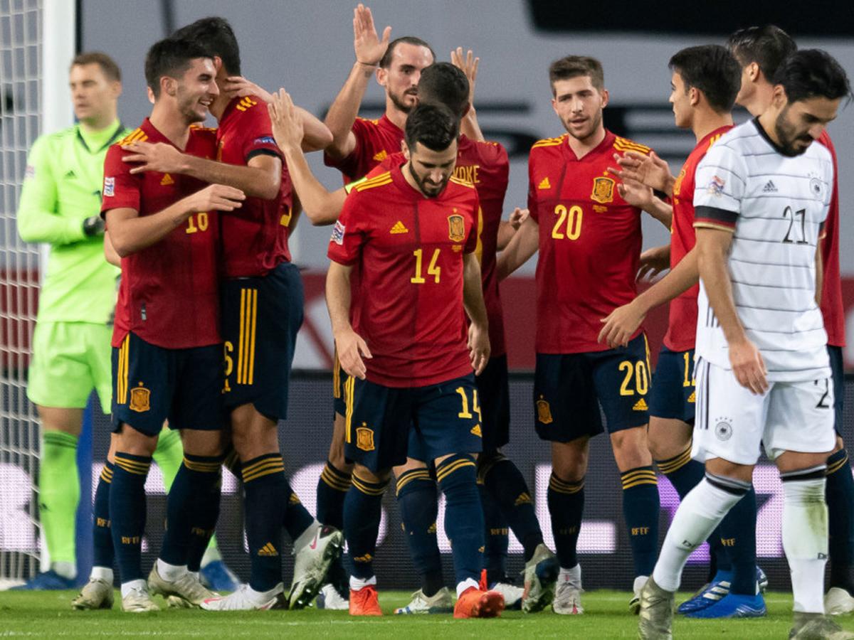 Германия проиграла Испании в матче Лиги наций