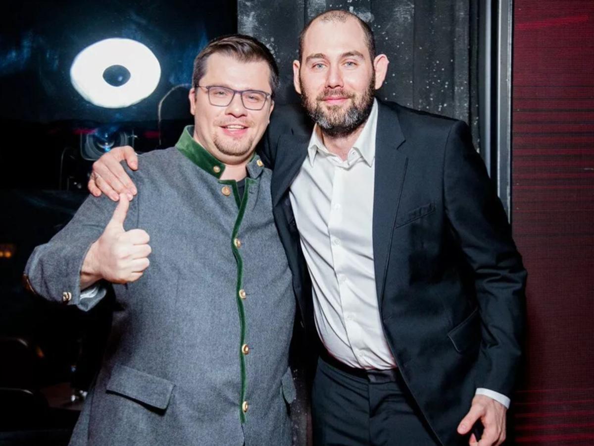 Гарик Харламов и Семен Слепаков