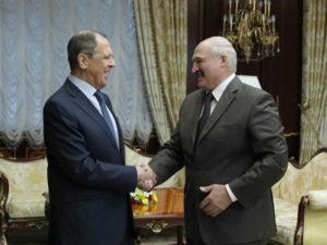 Лавров и Лукашенко