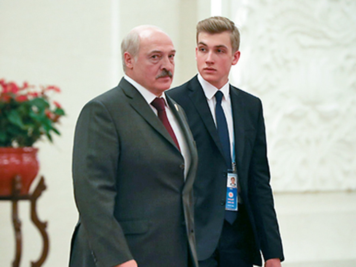 Лукашенко с Колей