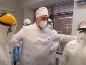 Лукашенко в больнице