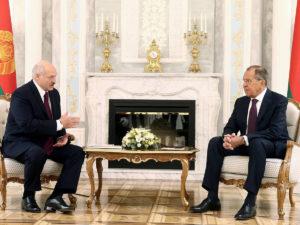 Лукашенко Лавров
