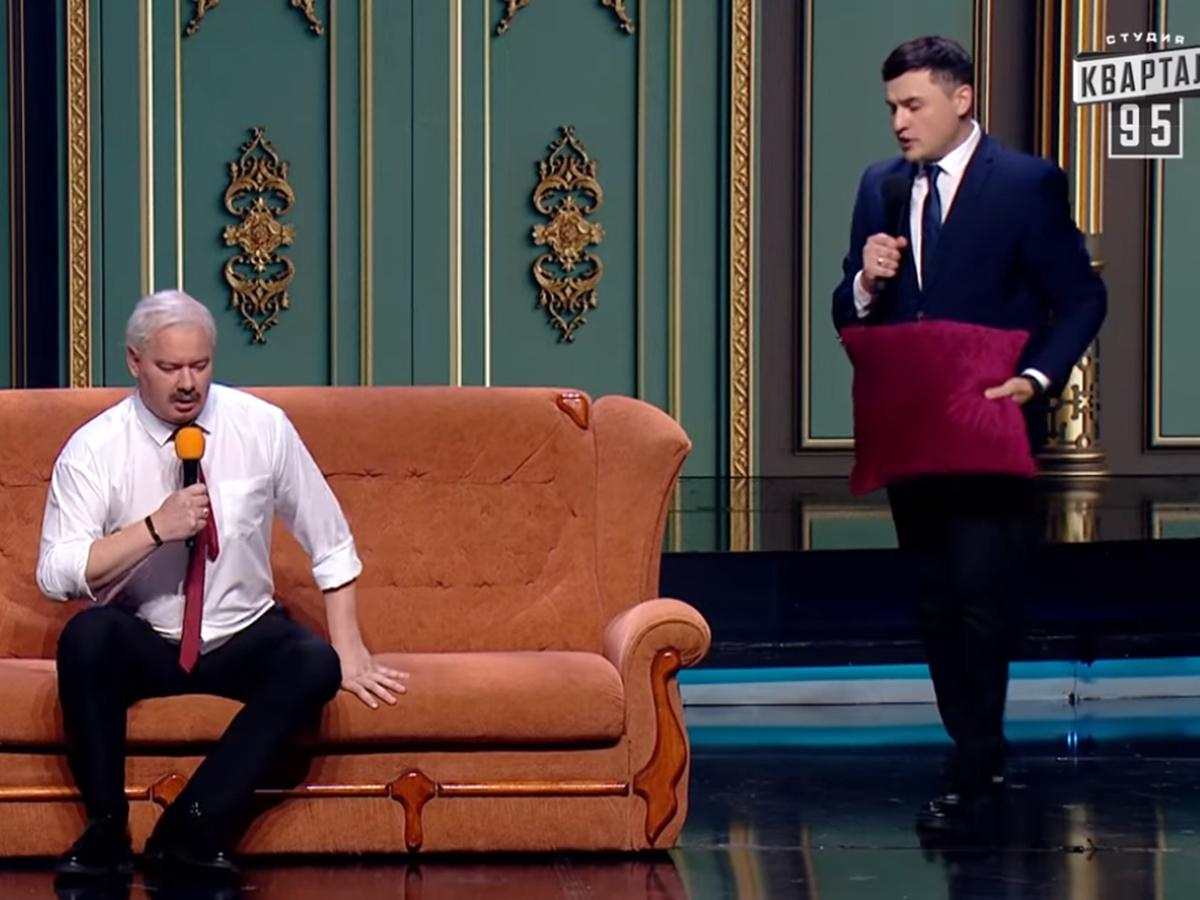 """""""Давно хотел повесить усы на гвоздь"""": экс-коллеги Зеленского показали пародию на Лукашенко с сыном Колей (ВИДЕО)"""