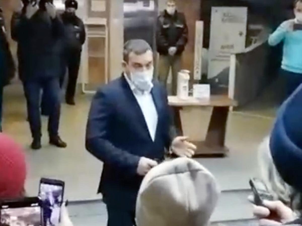 Мэр Новокузнецка