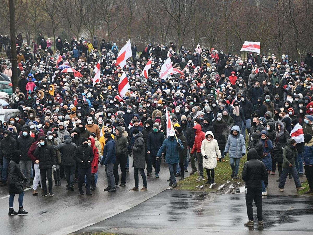 Митинг в Белоруссии