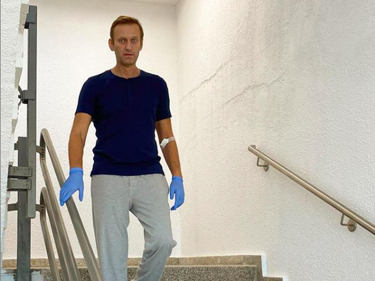 Отравление Навальное