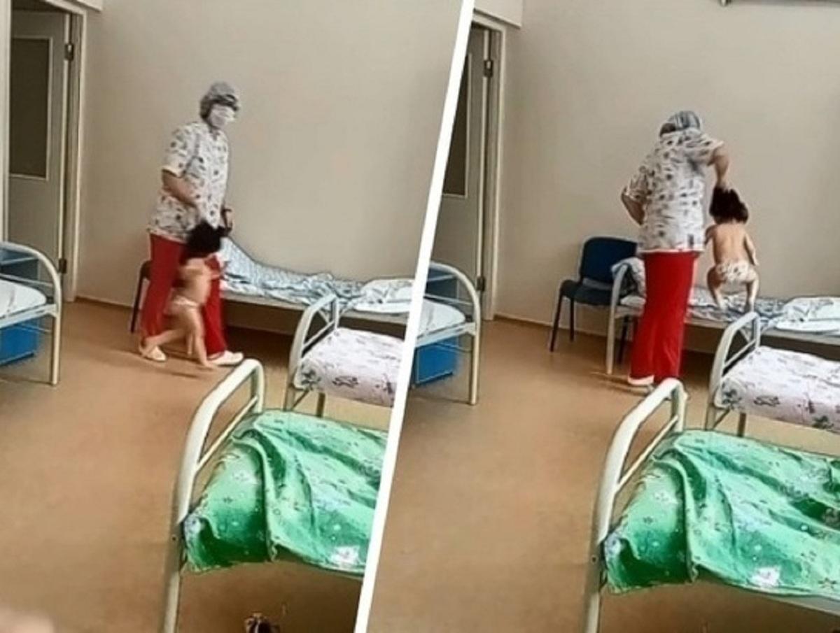 Медсестре в Новосибирске, таскавшей ребенка за волосы, грозит срок