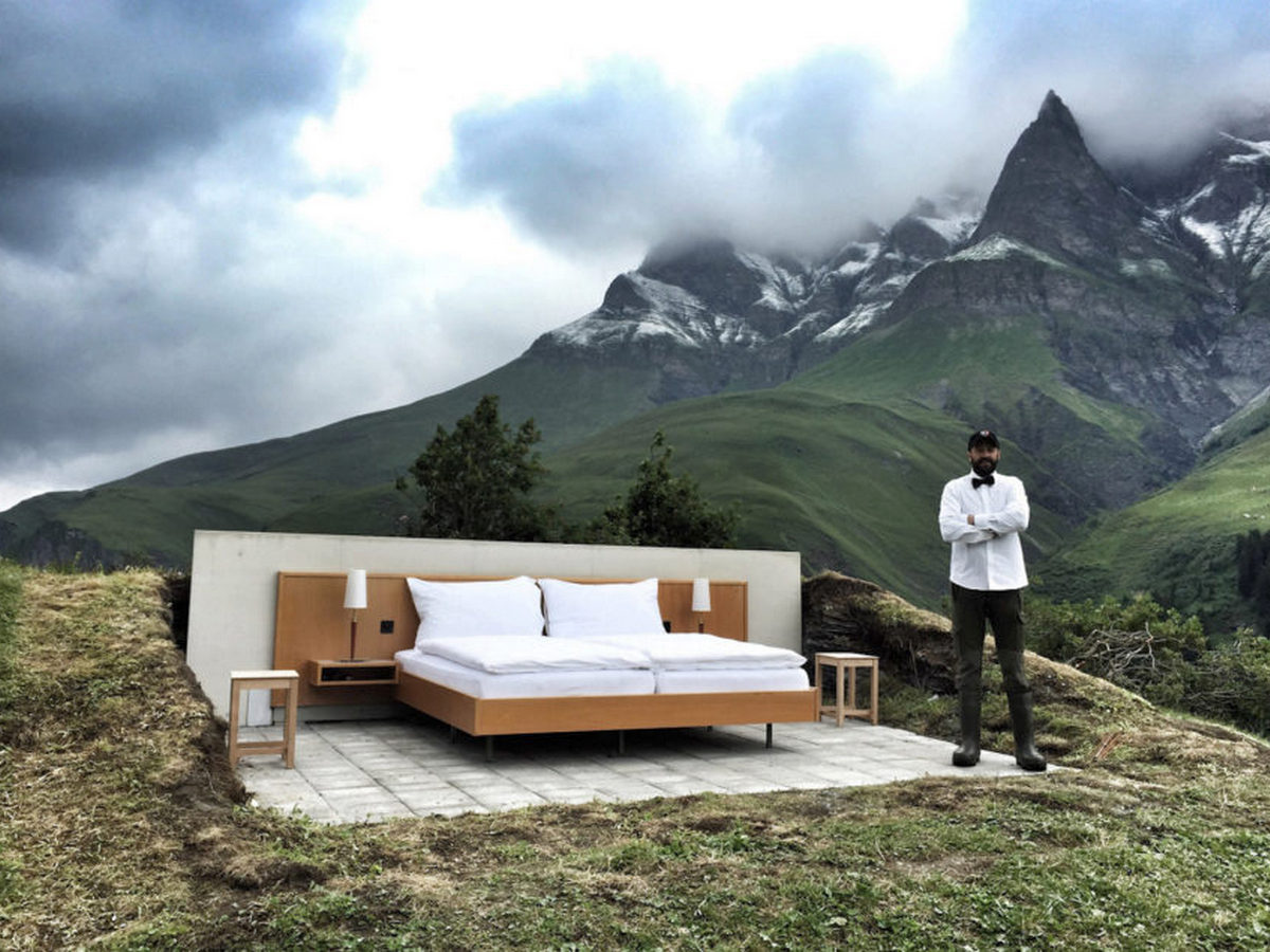 На Airbnb появилась возможность снять номер в Англии с видом на поле