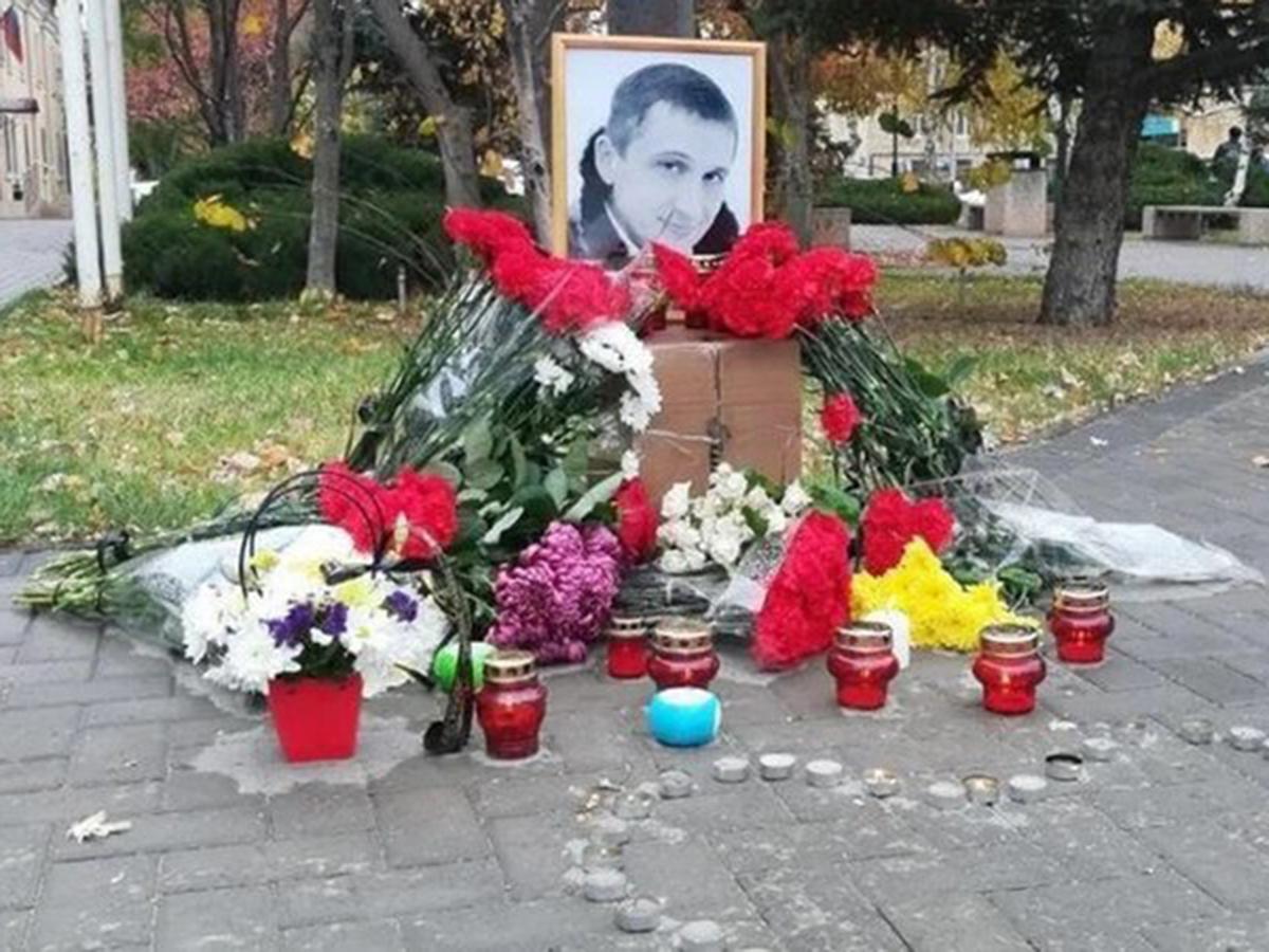 Погибший после ссоры в родительском чате Роман Гребенюк