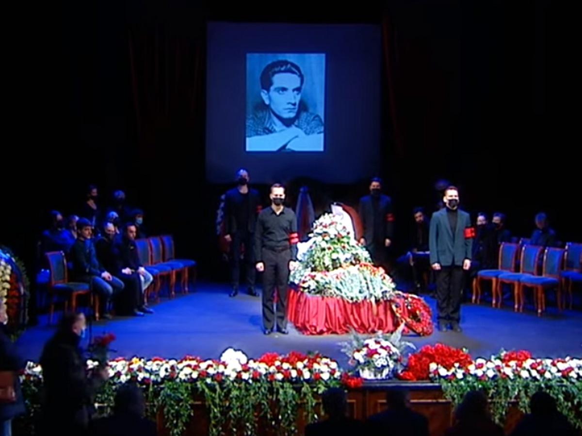 Похороны Джигарханяна