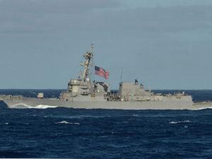 Польша о заходе эсминца США в российские воды