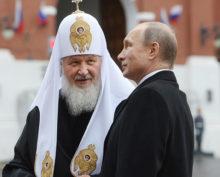 Президент Путин и патриарх Кирилл