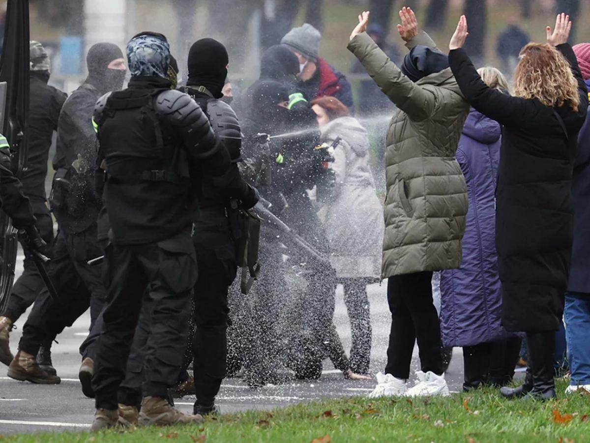 Протесты Белоруссия