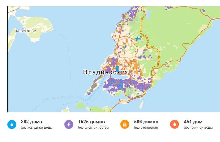 Режим ЧС во Владивостоке: появились первые жертвы ледяного дождя