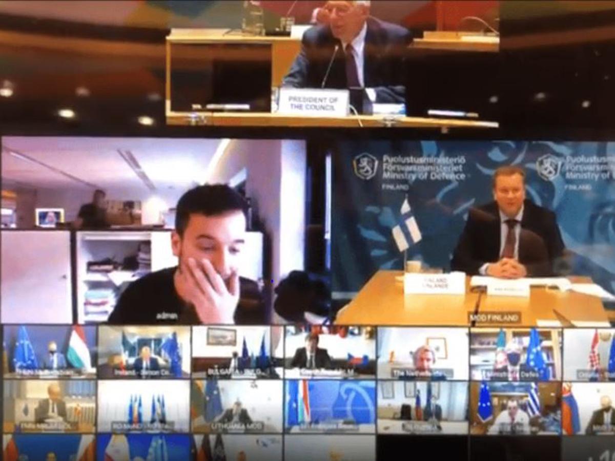 Репортер смог подключиться к секретной веб-встрече глав минобороны ЕС