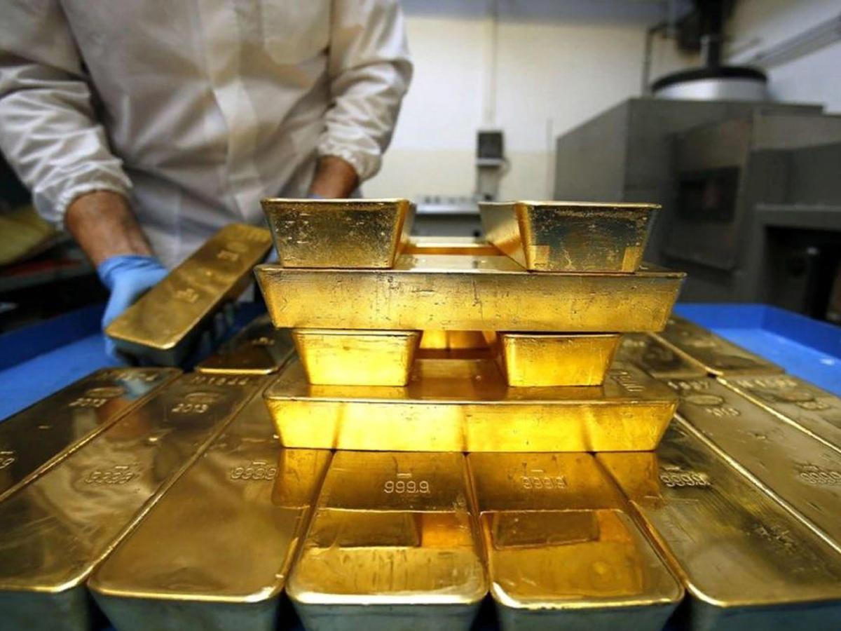 Россия продала Лондону более 220 тонн золота