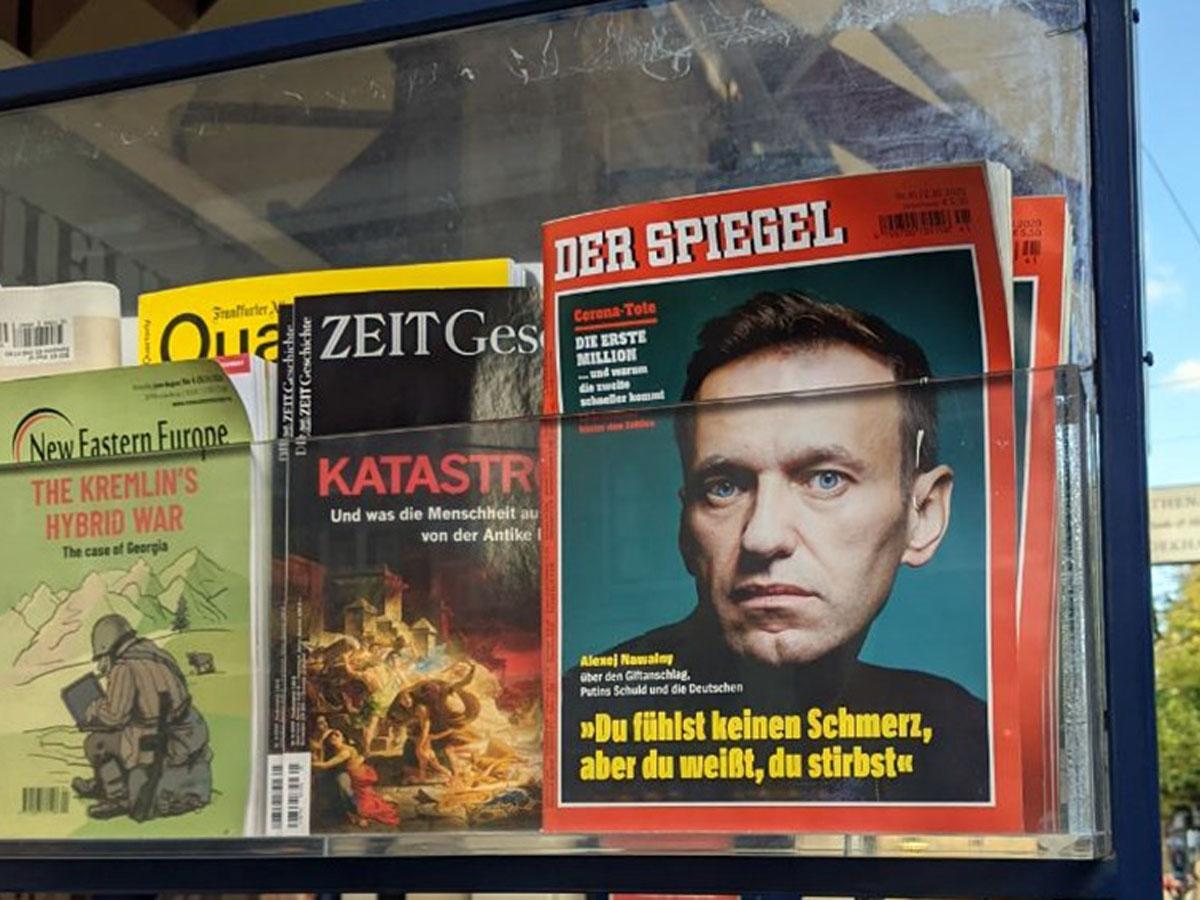 Россия санкции против Германии и Франции из-за Навального