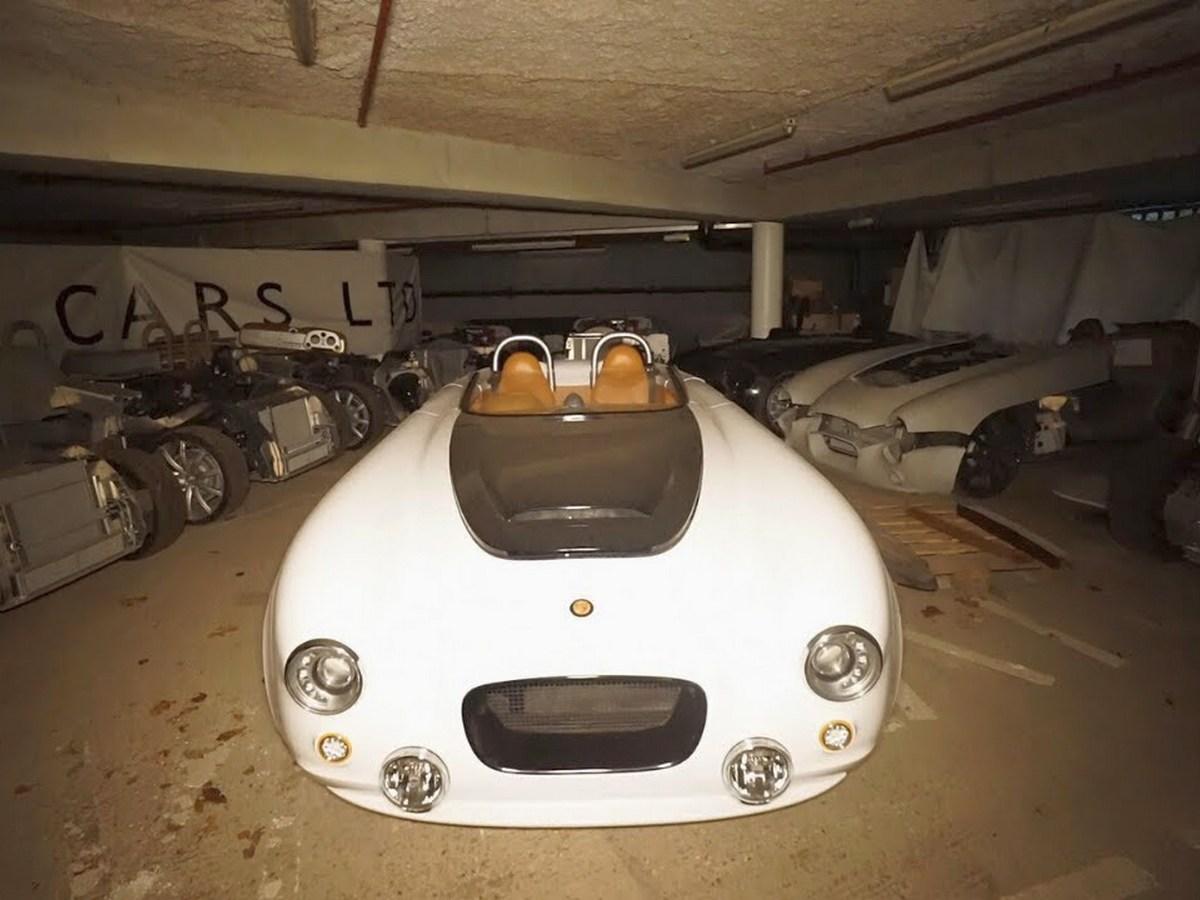 Коллекцию ретро-спорткаров в заброшенном бункере сняли на видео