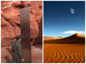 Загадочный металлический столб посреди пустыни поставил в тупик ученых