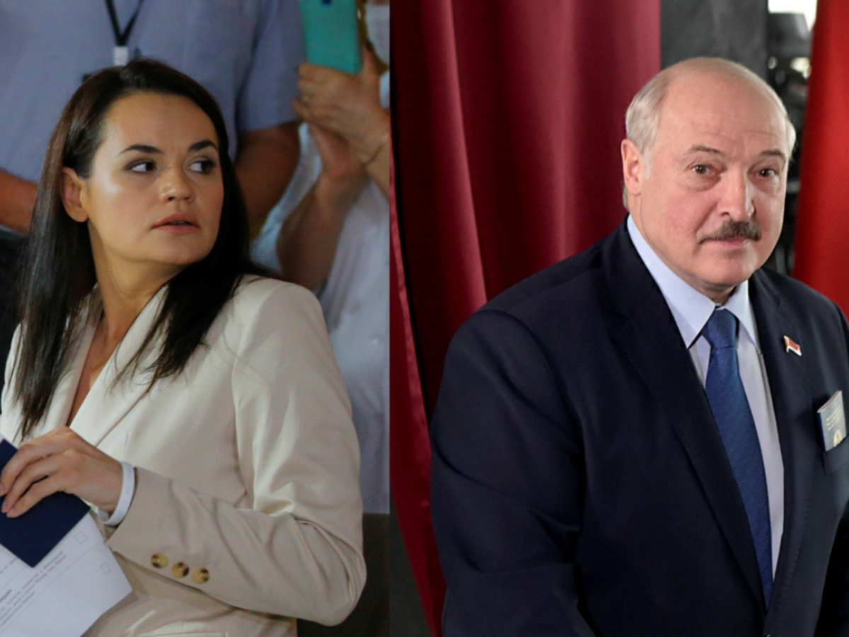 Тихановская Лукашенко