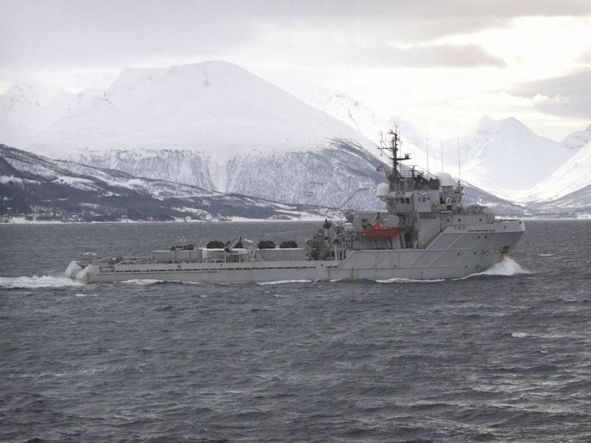 Корабль Норвегия