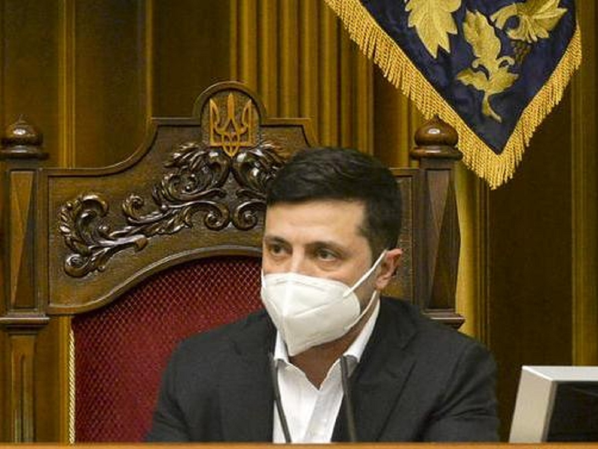 Владимир Зеленский заразился коронавирусом