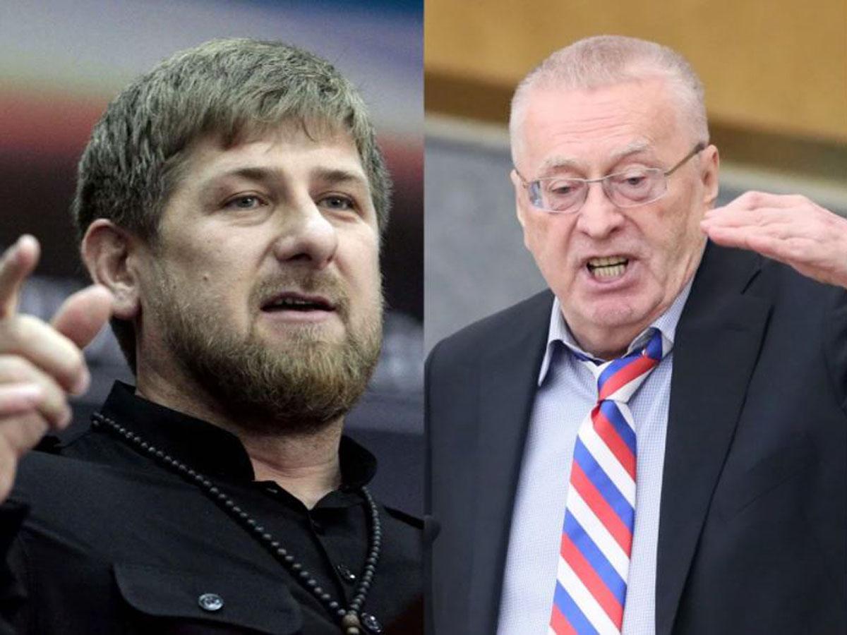 Жириновский конфликт с Кадыровым